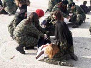 По пет задължителни часа военна подготовка за девети и десети клас