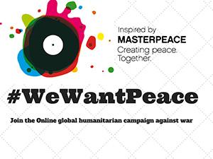 """Селфи за инициативата """"Ние искаме мир"""""""