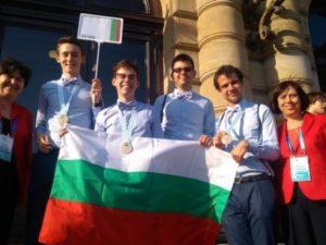 Олимпийският отбор по химия на България се завърна с медали от Чехия