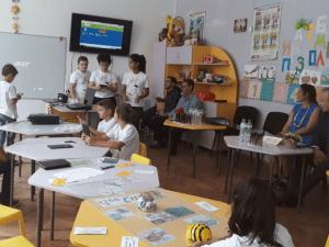 Четвъртокласници правят игри за връстниците си