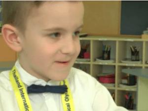 Най-младият златен медалист по математика в света е шестгодишно българче